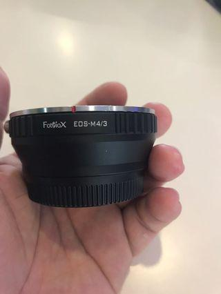 Fotodiox  EOS to M4/3 adapter