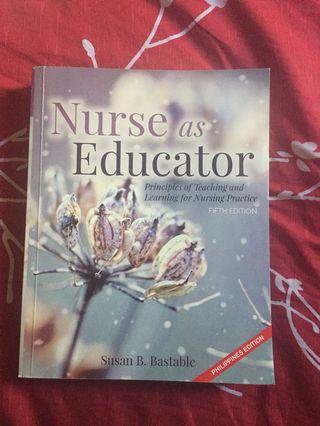 Nurse as Educator (Health Education)