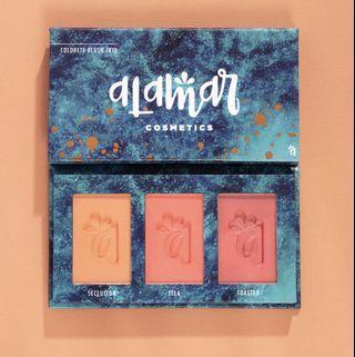 Alamar cosmetics colorette blush trio - medium/tan