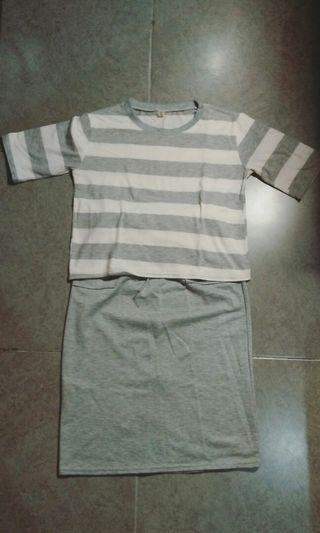 #mauthr 1 set baju rok