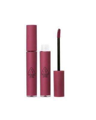 用過一次 3CE velvet lip tint know better 乾燥玫瑰色