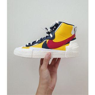"Nike x Sacai Blazer Yellow ""Snow Beach"""
