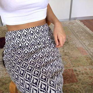 Nichii Printed Pencil Skirt