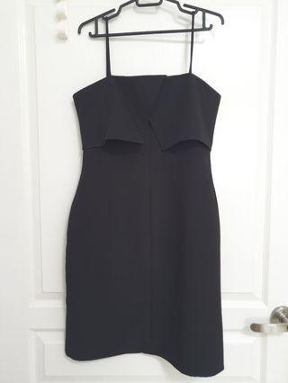 Editor's Market Midi Dress In Black