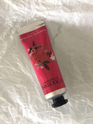 🚚 RARE Loccitane x Rifle Paper Co Cherry Blossom Hand Cream 30ml