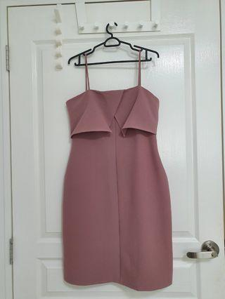 Editor's Market Midi Dress In Pink