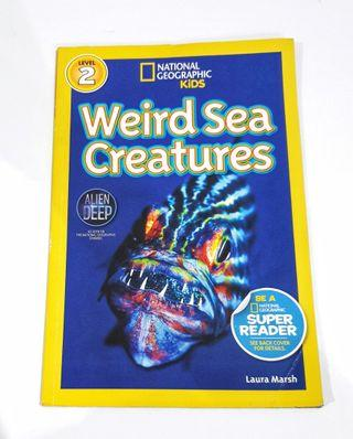 Bhs Inggris: National Geographic Kids: Weird Sea Creatures Level 2 Early Readers