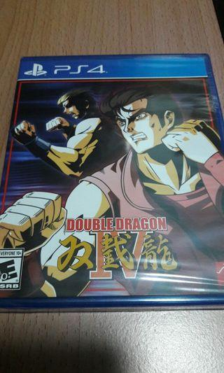 限量版 全新 雙截龍 PS4 Limited Run Game ~ Double Dragon IV