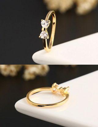 韓國蝴蝶戒指