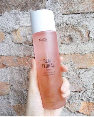 (SHARE IN BOTTLE) NACIFIC NATURAL PACIFIC REAL FLORAL TONER CHERRY BLOSSOMS