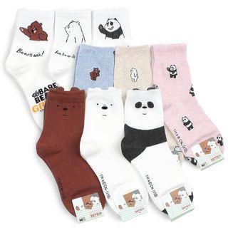 We Bare Bears Socks