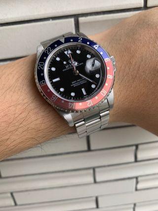 Rolex 16700 GMT 百事