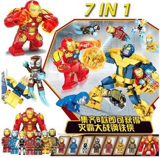 Lego Compatible Ironman Set 3