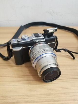 Olympus digital camera with removable lens