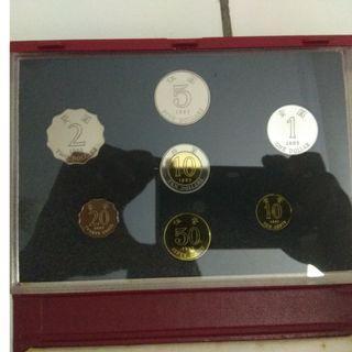 Hongkong 1993 Proof Coin Collection