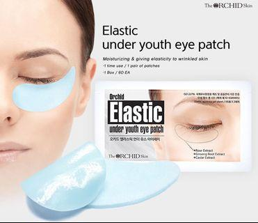 Trial set : The Orchid Skin (mixed) Smoky + Elastic  Under Clear Eye Patch