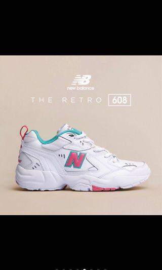 🚚 Newbalance608鞋子桃紅