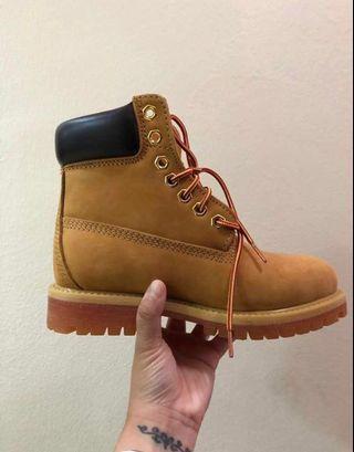 Timberland's Original Yellow Boots (brand new)
