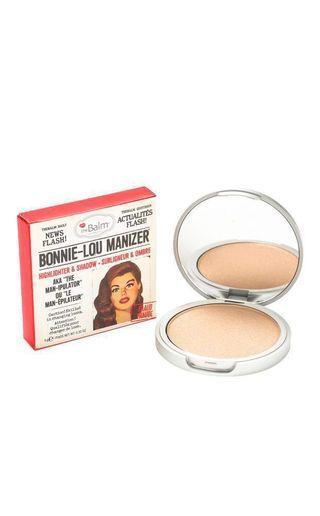 Bonnie-Lou Manizer highlighter & eyeshadow
