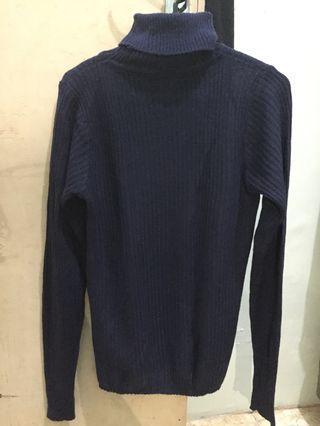 Knit Sweater Turtleneck