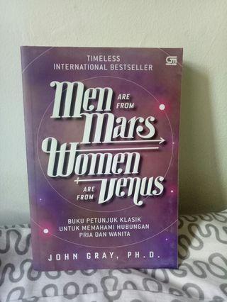 Men are from Mars, Women are from Venus - John Gray