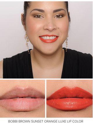 Bobbi Brown Luxe Lip Colour in Sunset Orange