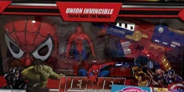 🚚 Spider-Man Set