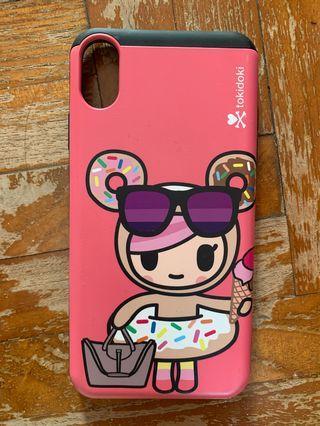 Tokidonki donutella iPhone XS Max cover