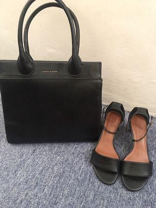 Charles&Keith bag&heels