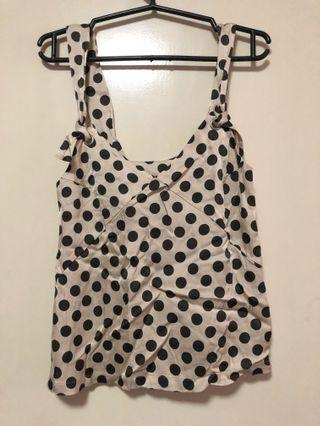 H&M Polka Dot Top