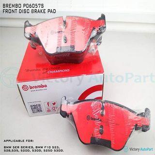 BREMBO P06057S FRONT DISC BRAKE PAD