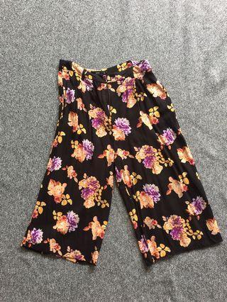 Sportsgirl floral culottes