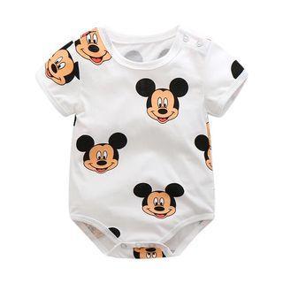 🚚 Mickey Baby Rompers Short Sleeve Summer