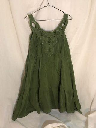 green garden dress #mauthr