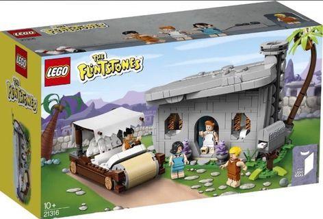 Lego 21316 (Flinstones 聰明笨伯)