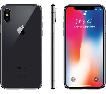 Best prices offered for used iPhone X 64/256gb