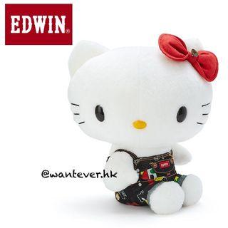 Sanrio Hello KittyxEdwin公仔🙌🏻