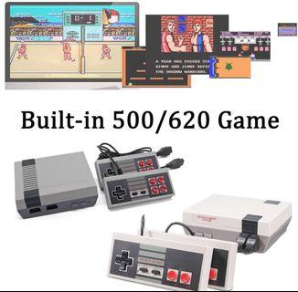 🚚 NEW - Mini Retro Classic Game / Game Consoles with built in 500 games