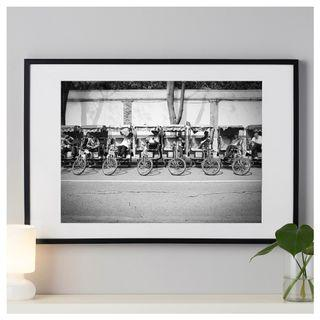 """Open Edition Print of """"The Rickshawers"""" with Frame (91 x 61 cm)"""
