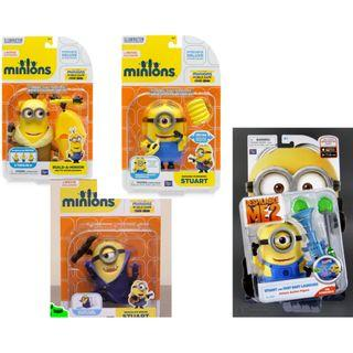 wts minions toy - deluxe action figure