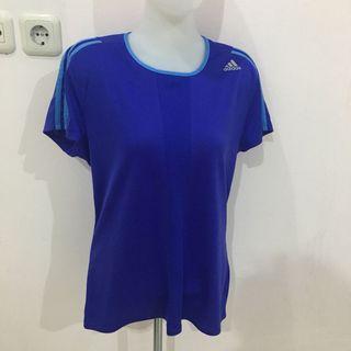 Adidas Climate Tshirt (Baju Perempuan)