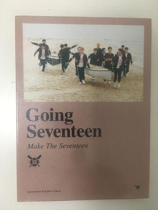 sEVENTEEN 'gOING sEVENTEEN' aLBUM [make the 17 ver]
