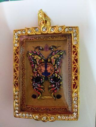 🚚 Kruba Krissana Butterfly Amulet