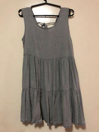 Light Gray Short Dress
