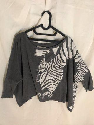 Zara Zebra Sweater #mauthr
