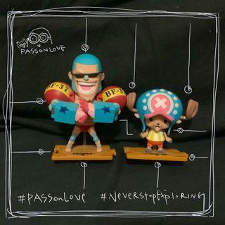 ⚠️六折 全新⚠️One Piece Figure 海賊王 新世界 喬巴 Chopper 7-Eleven 7-11 模型 珍藏玩具