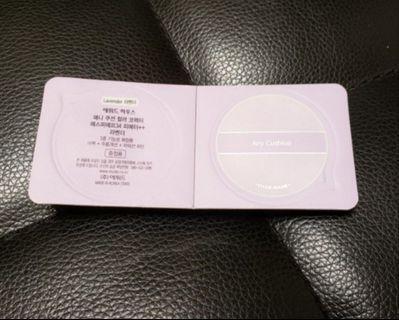 全新 Etude House Any Cushion Lavender Sample #MTRkt