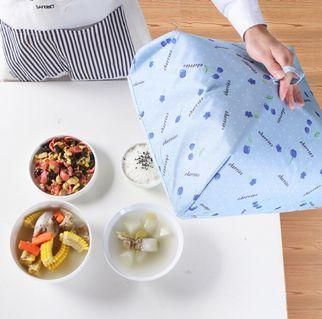 Heat preservation food cover.  Foldable for easy storage. Big and Medium size to choose.