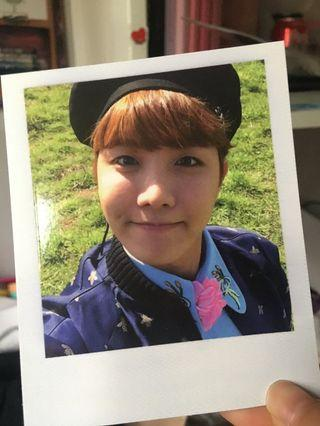 bts hoseok young forever pc/Polaroid