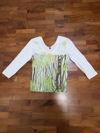 🚚 Espirit 3/4 Sleeves T Shirt